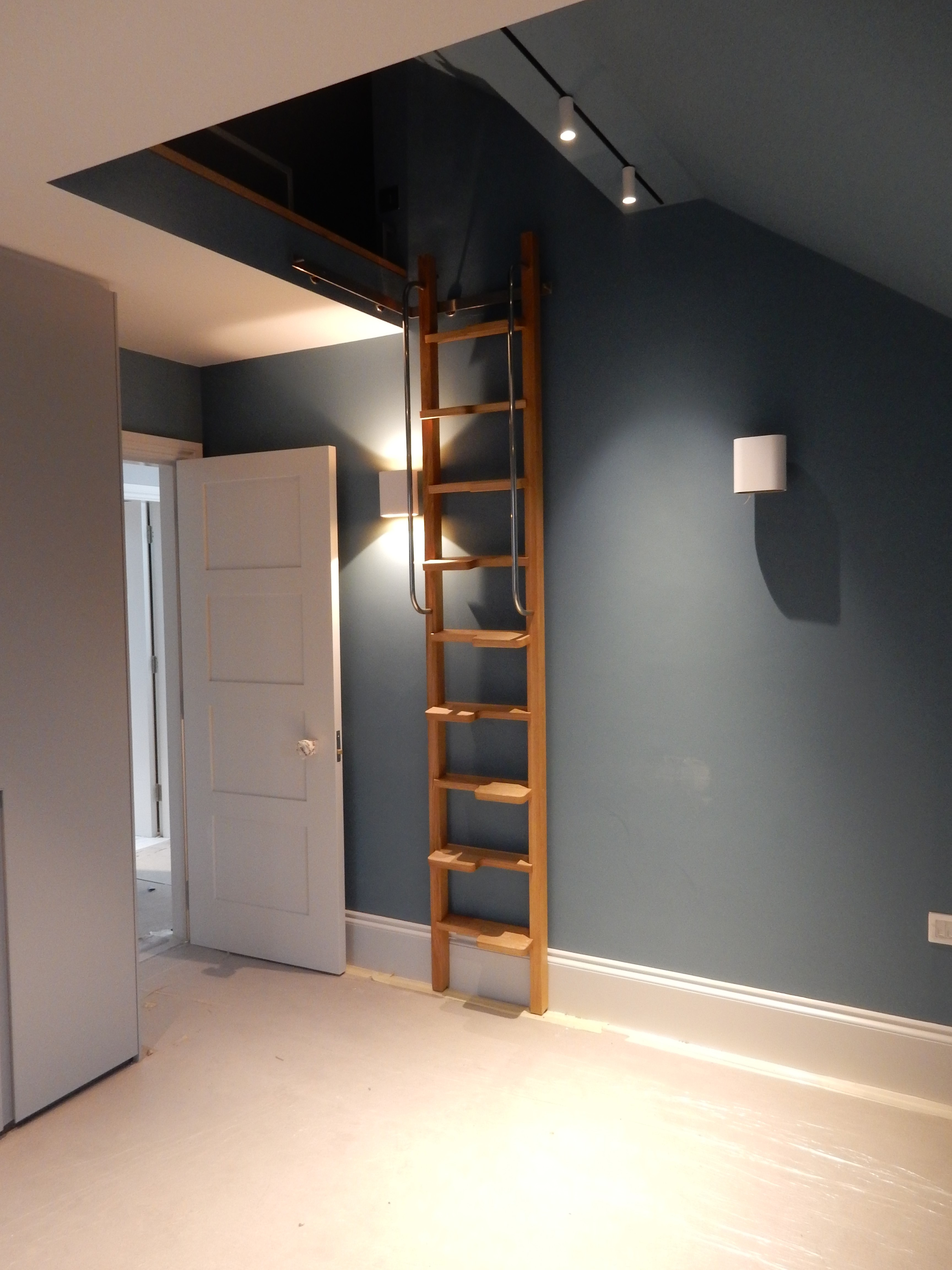 creativemass - bed deck ladder, loft space, kids bedroom, London