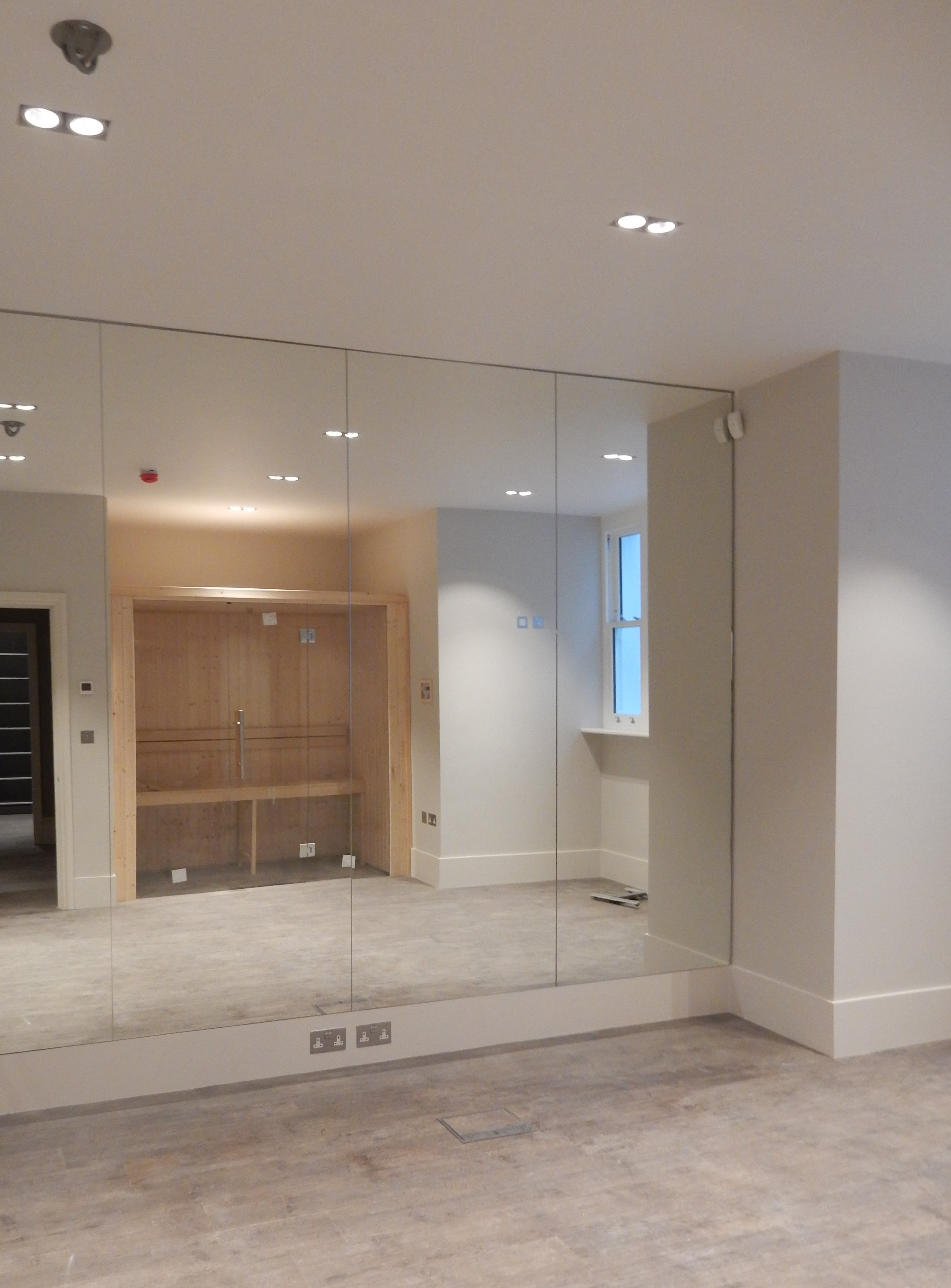creativemass - basement, extension, internal remodelling, gym, light, London