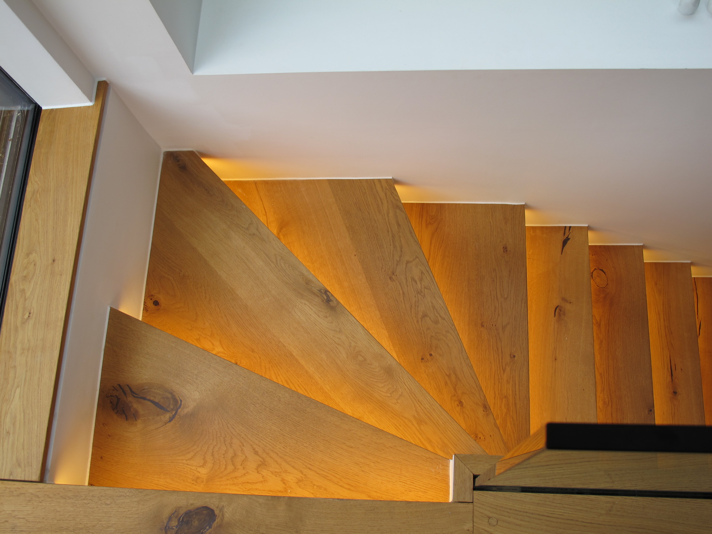 creativemass - bespoke staircase, lighting, materials, interior design