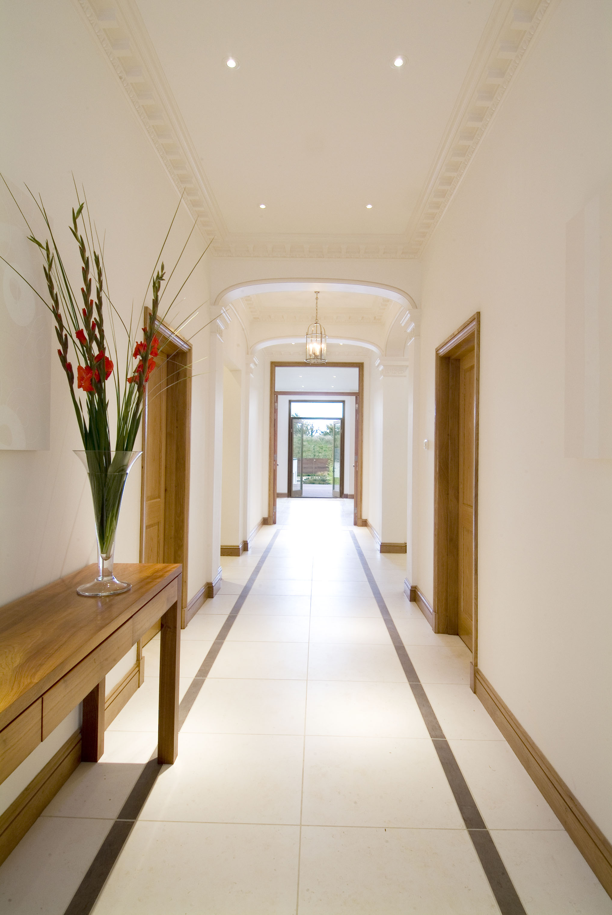 creativemass - internal remodelling, extension, entrance hallway, bespoke, London