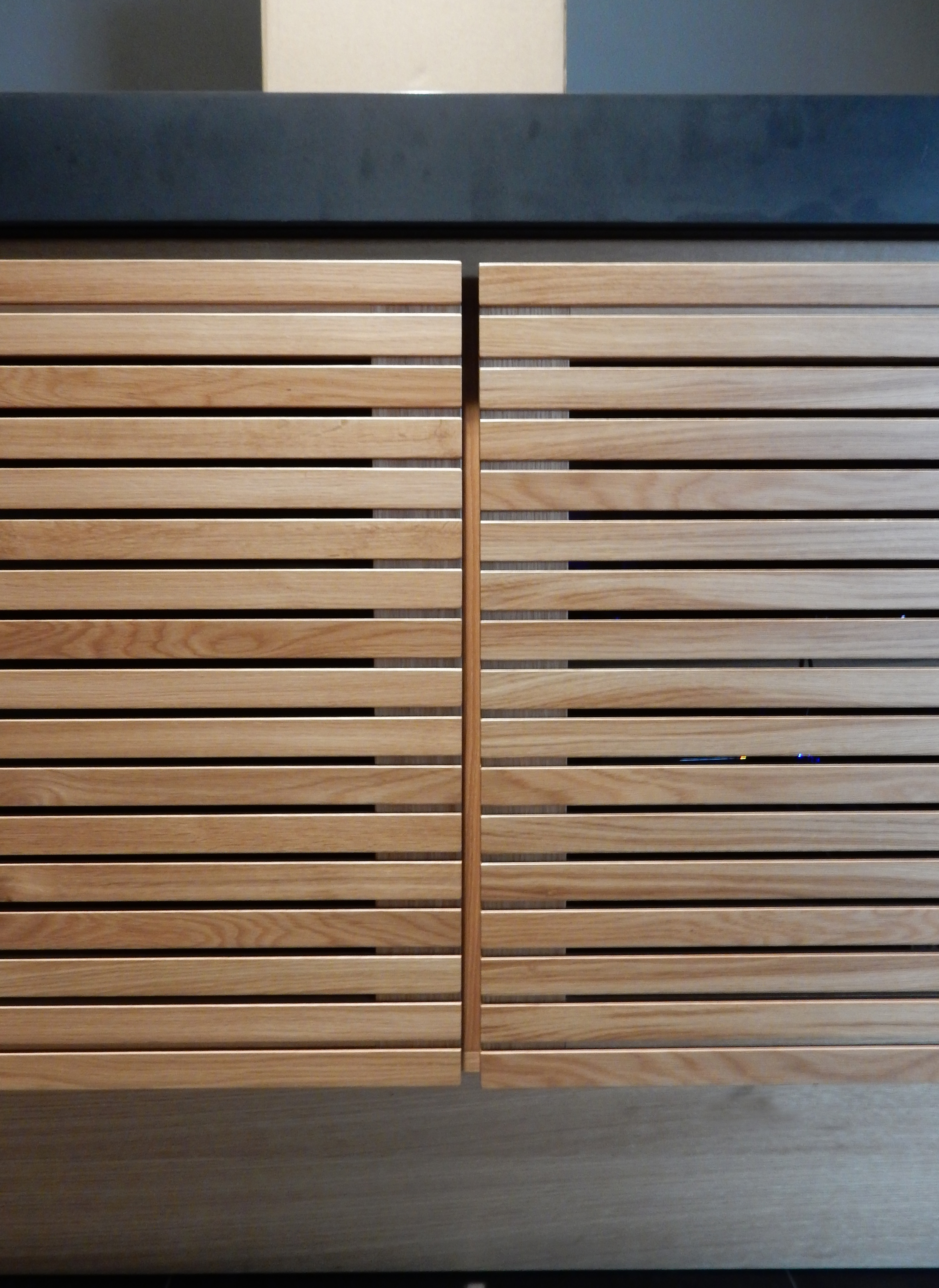 creativemass - timber, av cupboard, concealed, London
