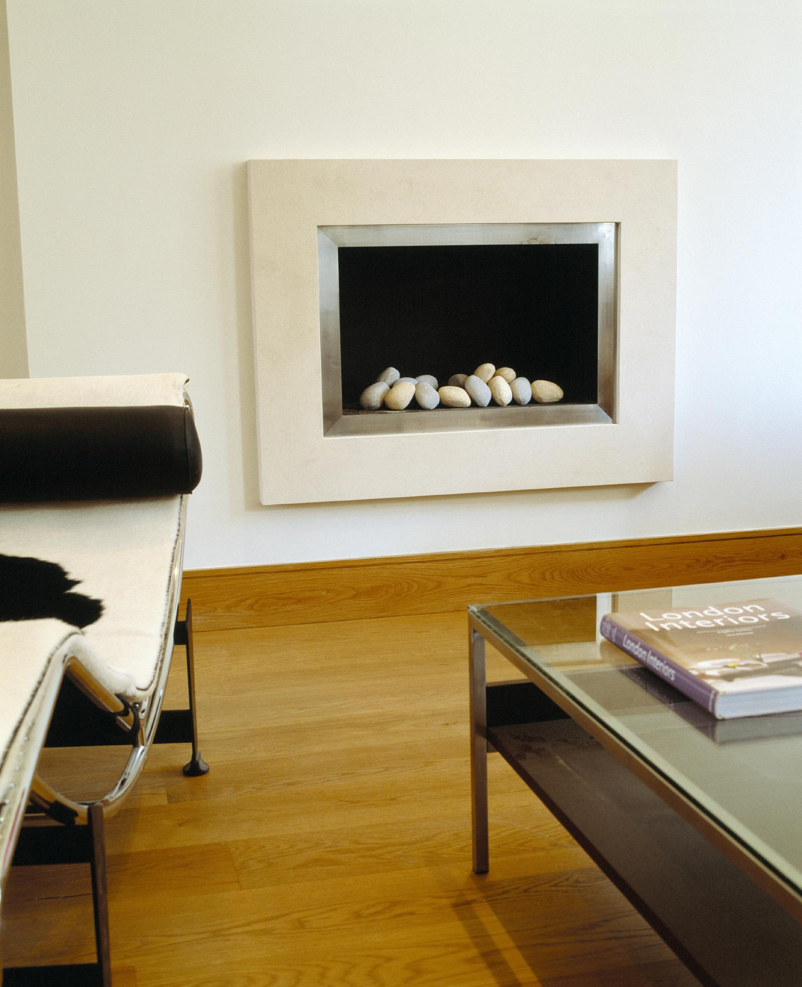 creativemass - internal remodelling, light, fireplace, furniture, London
