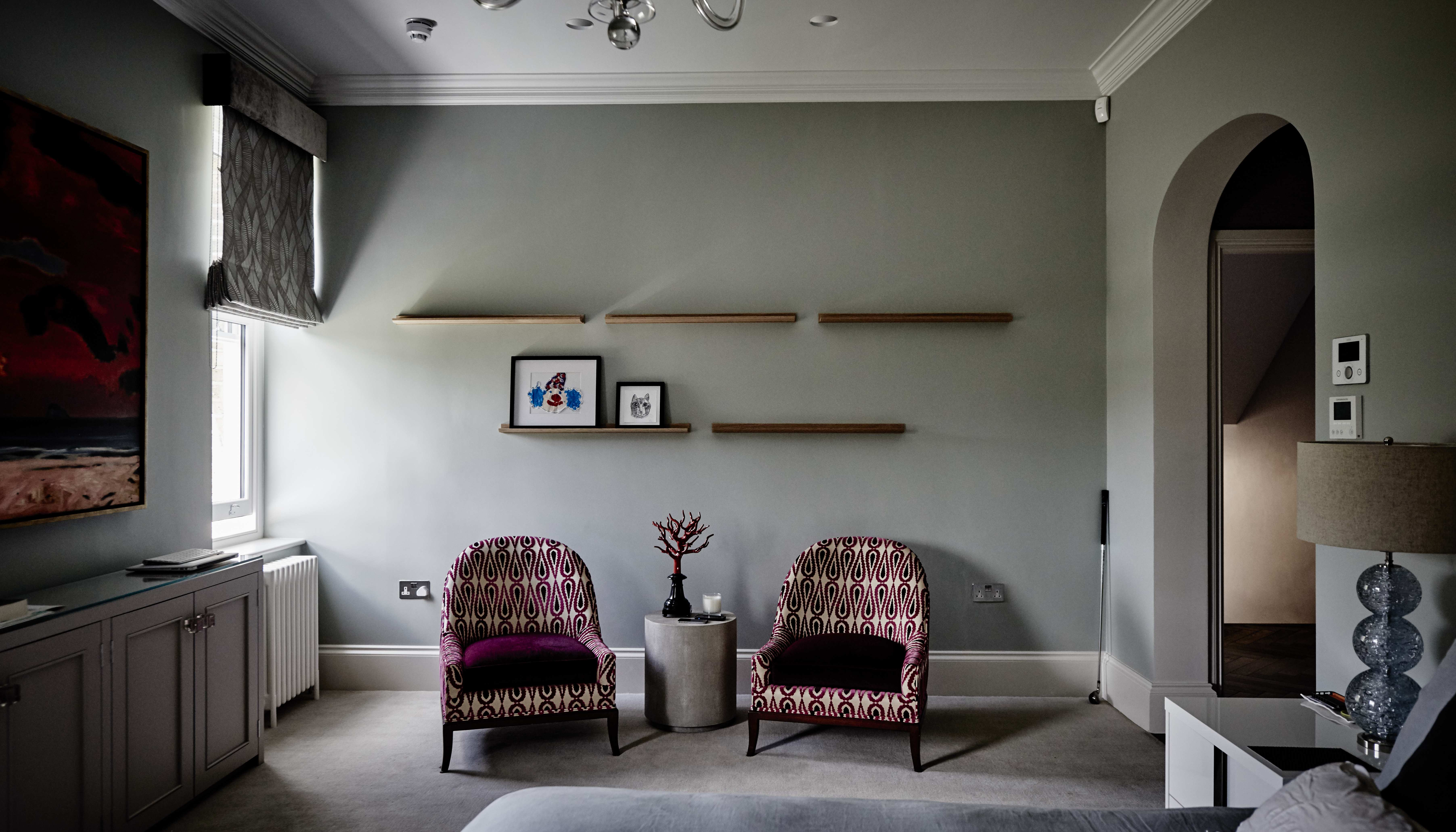 creativemass - basement extension and internal remodelling, light, furniture, bedroom, London